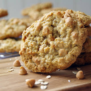 Chewy Butterscotch Oatmeal Cookie.