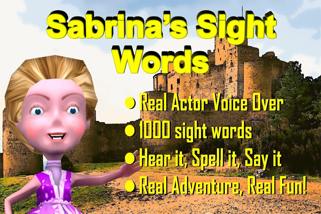Sabrina's Sight Words- screenshot