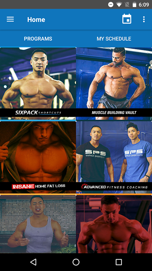 Sixpack abs training android apps on google play sixpack abs training screenshot ccuart Choice Image