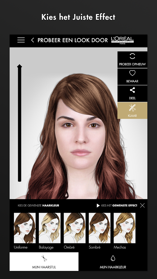 Style My Hair: screenshot