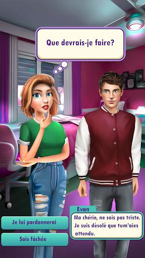 L'amour au lycée - Jeu d'histoire d'amour  captures d'écran 2