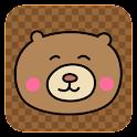 Tema beruang imut icon