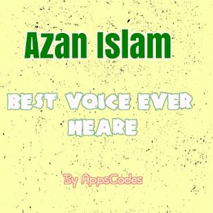Azan Islam - náhled