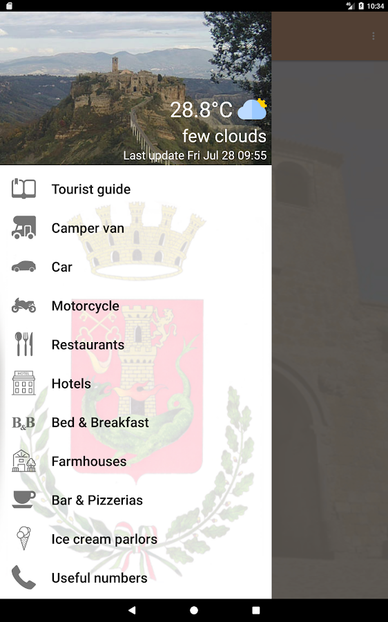Civita di Bagnoregio- screenshot