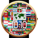 Flags of the World Watch Face icon