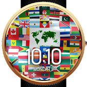 Flags of the World Watch Face