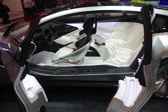 Photo: A LeEco concept.  I hope its a concept -- do you want to sit in that?