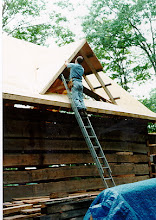 Photo: Enclosing the peak dormer. Lots of fun compound cuts here.