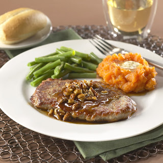 Honey-Pecan Pork Cutlets.