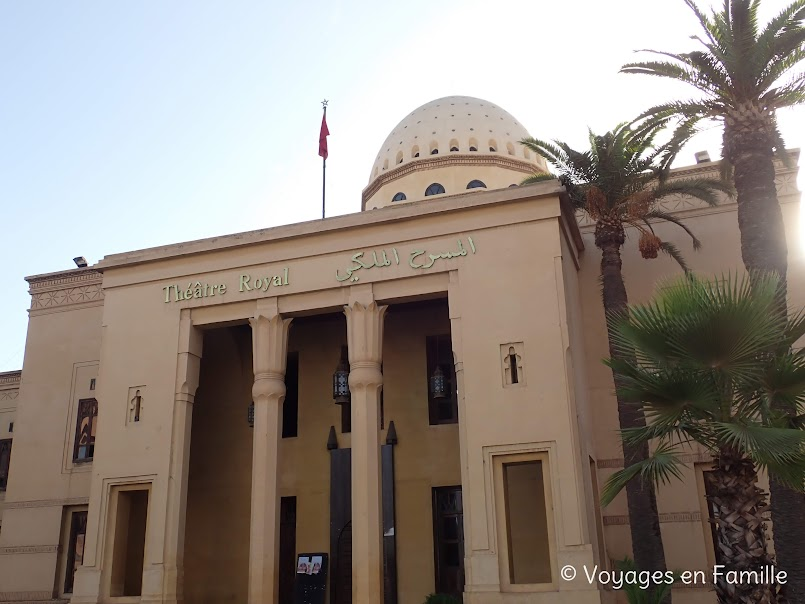 Marrakech, théatre royal