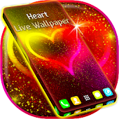 Glitter Heart Live Wallpaper Full HD Free