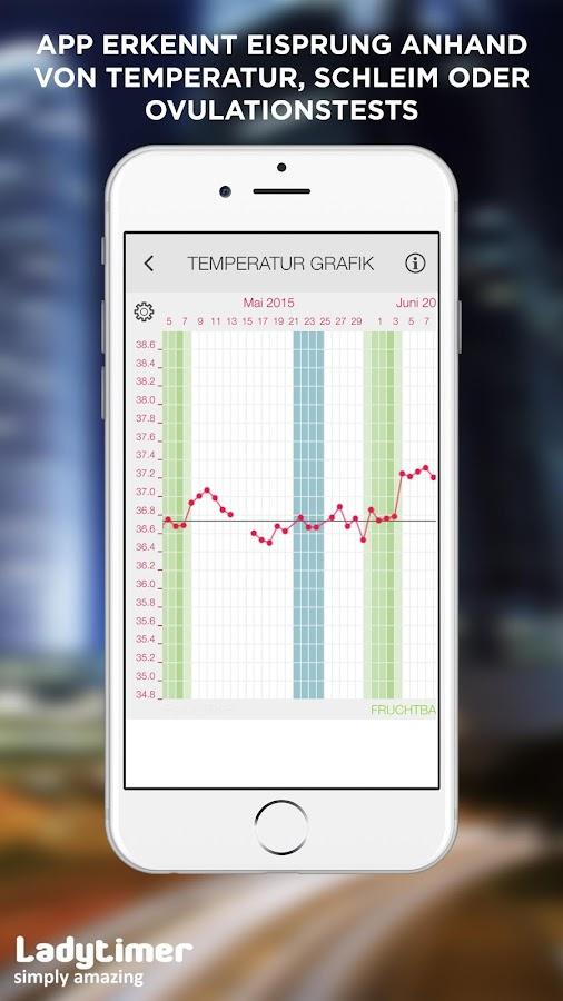 ladytimer eisprung perioden kalender android apps auf. Black Bedroom Furniture Sets. Home Design Ideas