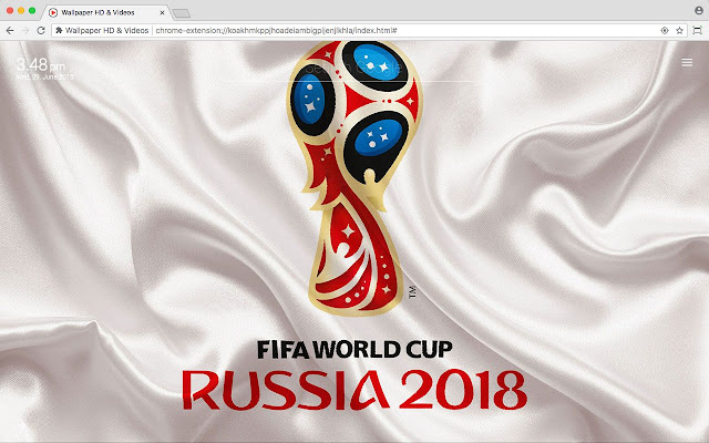 Russia World Cup 2018 Football Hd Wallpaper