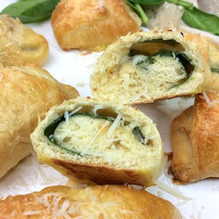 Spinach & Cheese Croissants.