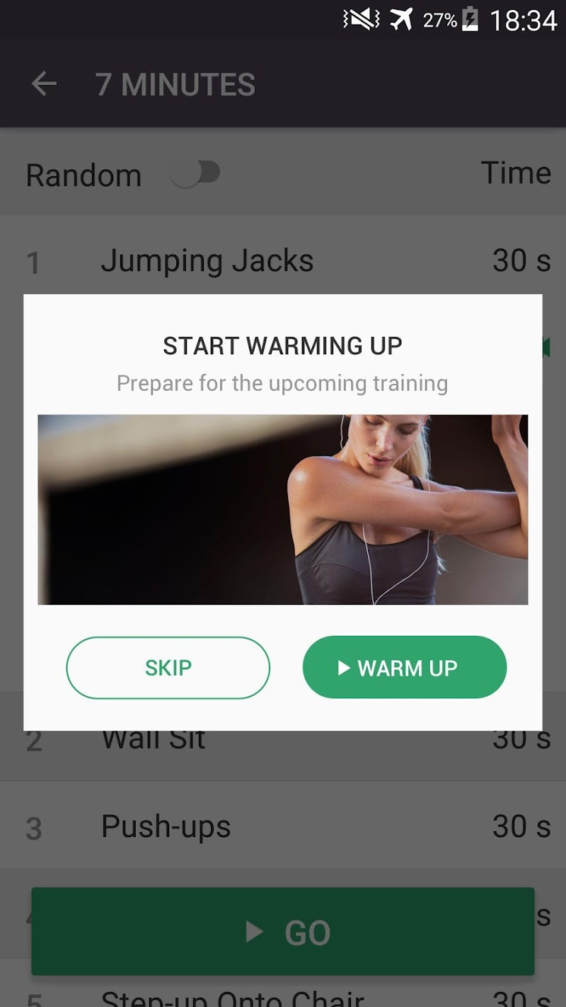 Home Workout - No Equipment & Meal Planner Screenshot 4