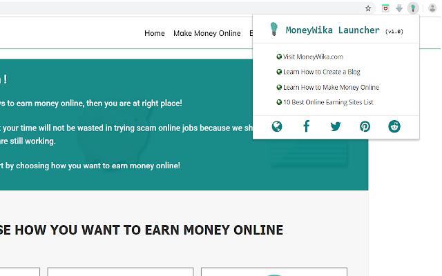 MoneyWika Launcher
