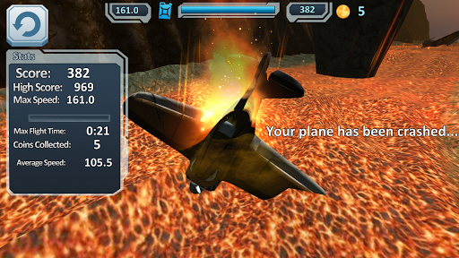 Airplanes VS Volcano 3D