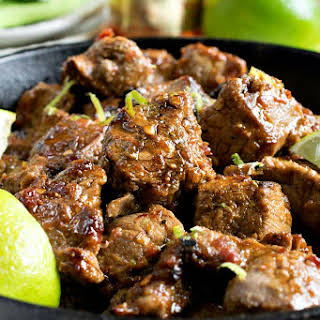Chili Lime Steak Bites.