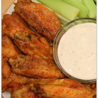 Crispy Baked Buffalo Wings #ChicksWingIt.