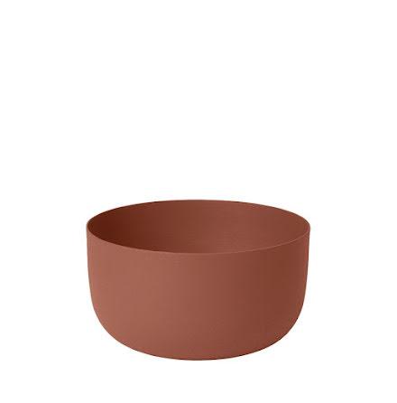 REO Skål, H 7 cm Ø 13 cm, Medium, Rustic Brown