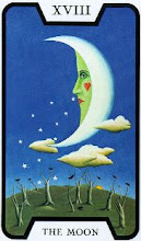 Photo: .XVIII. The Moon - A Lua Tarot of the Witches - Fergus Hall
