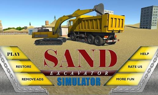 Sand-Excavator-Truck-Sim-3D 4