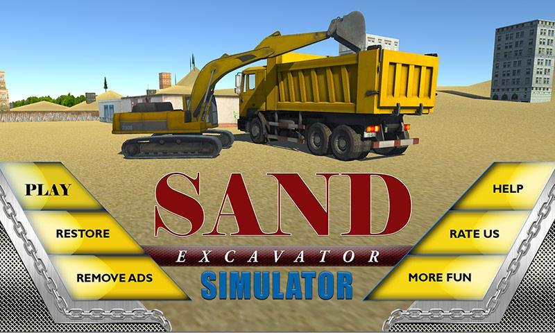 Sand-Excavator-Truck-Sim-3D 16