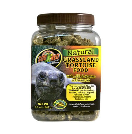 Natural Grassland Tortoise Food 240g