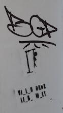 """Photo: Stencil; Unknown Artist; """"Hangman"""""""