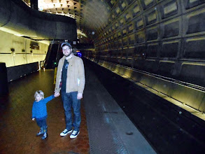 Photo: ...not to mention the noise, dirt and danger of the underground train station.