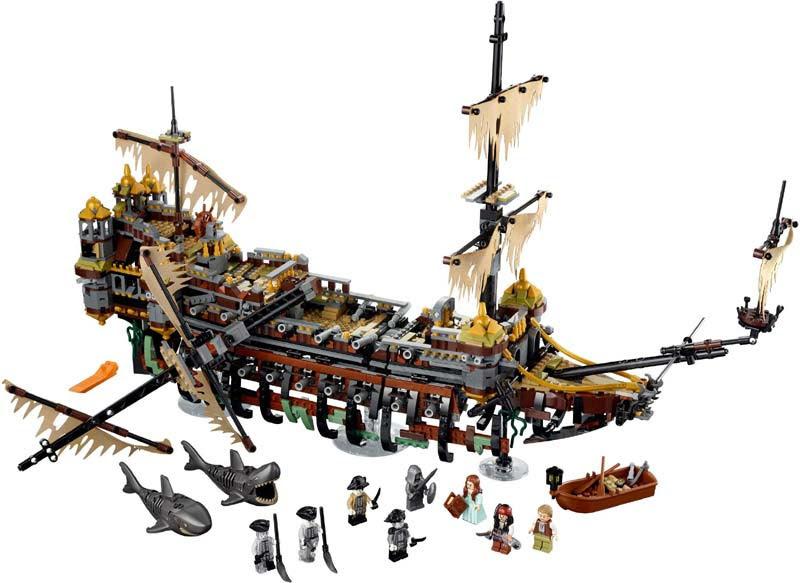 Contenido de Lego® 71042 Silenciosa Mary