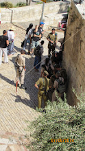 Photo: new recruits for IDF leaving training...