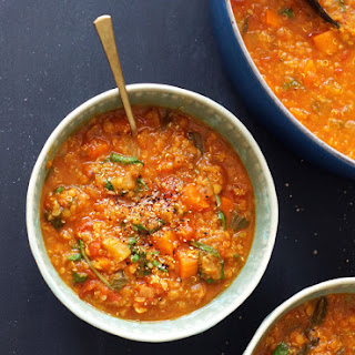 Lentil, Kale & Quinoa Stew (Vegan)