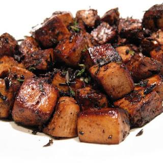 The Best Basic Balsamic Tofu.