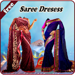 Saree Dresses Photo Montage