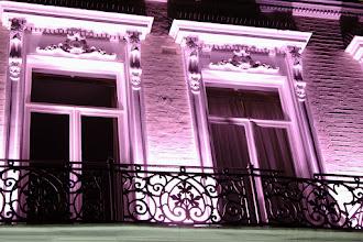 Photo: illuminated hotel window Trebovir Road, London.  for #windowwednesday / +#Window Wednesday by +Cheryl Cooper +Jason Kowing +J.J. Bentley +Catherine Furet and +Jules Falk Hunter ... #sooc   flunk - all my dreams on hold ... have a good night! :)
