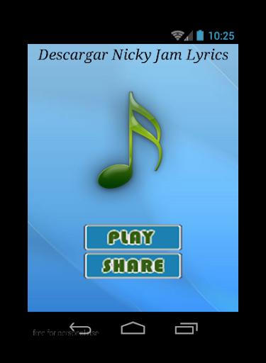 Descargar Nicky Jam Lyrics
