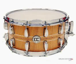 """Photo: DC-drums Custom shop - Solid Satve Mahogany 14 x 7"""""""