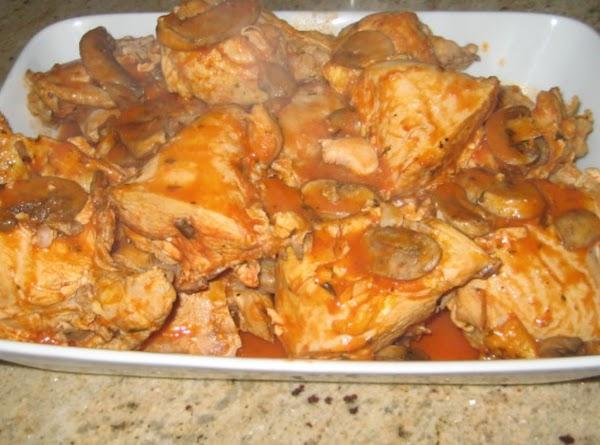 Mom's Chicken Cacciatore Recipe