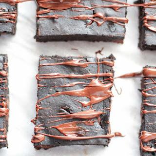 Healthy Brownies with Pumpkin.