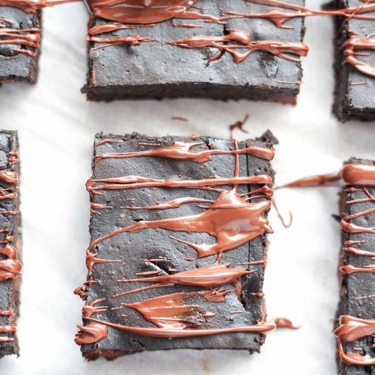 Healthy Brownies with Pumpkin