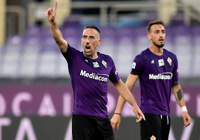 Choqué, Franck Ribéry serait prêt à quitter l'Italie