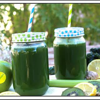 Raw Monster Green Juice.
