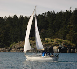 Photo: Leaving Pedder Bay (home).
