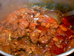 Photo: pork chunks are tender and well-seasoned