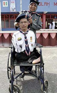 Disabled Scout