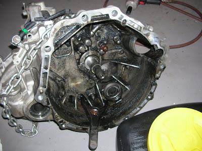 350Z Clutch, 03 Tranny, Rear Main Seal   (Pics) - Maxima Forums