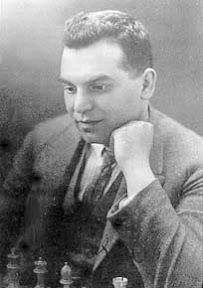 Richard Reti Chess Player