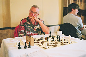 Jimmy Simpson Jonathan Hawkins Hartlepool Chess