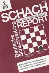 Deutsche Schach Report February 1989
